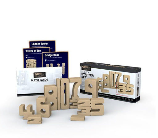 SumBlox Building Blocks Starter Set 27 Pieces