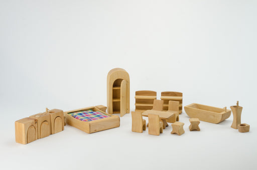 Verneuer Doll House Furniture Set 19 pieces