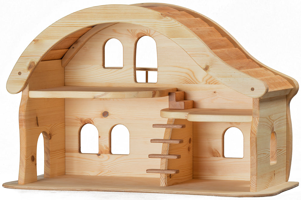 Verneuer Doll House With Balcony In Australia From Oskar S Wooden