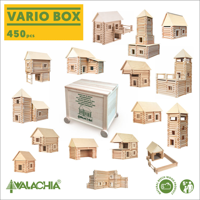 Walachia Vario Box 450 pieces (Vario + XL + Fort)