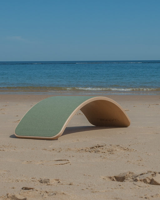 Wobbel Board Original Lacquered With Felt Forest Australia