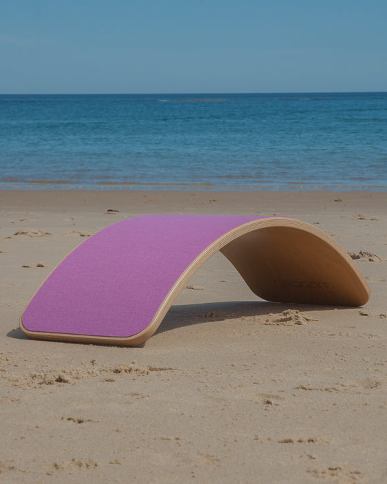 Wobbel Board Original Lacquered With Felt Powder Pink Australia