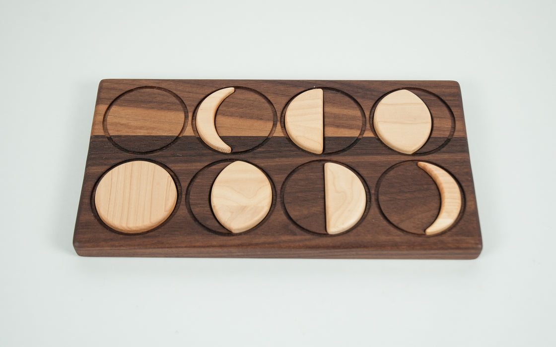 Wooden Moon Phases Puzzle Treasures From Jennifer