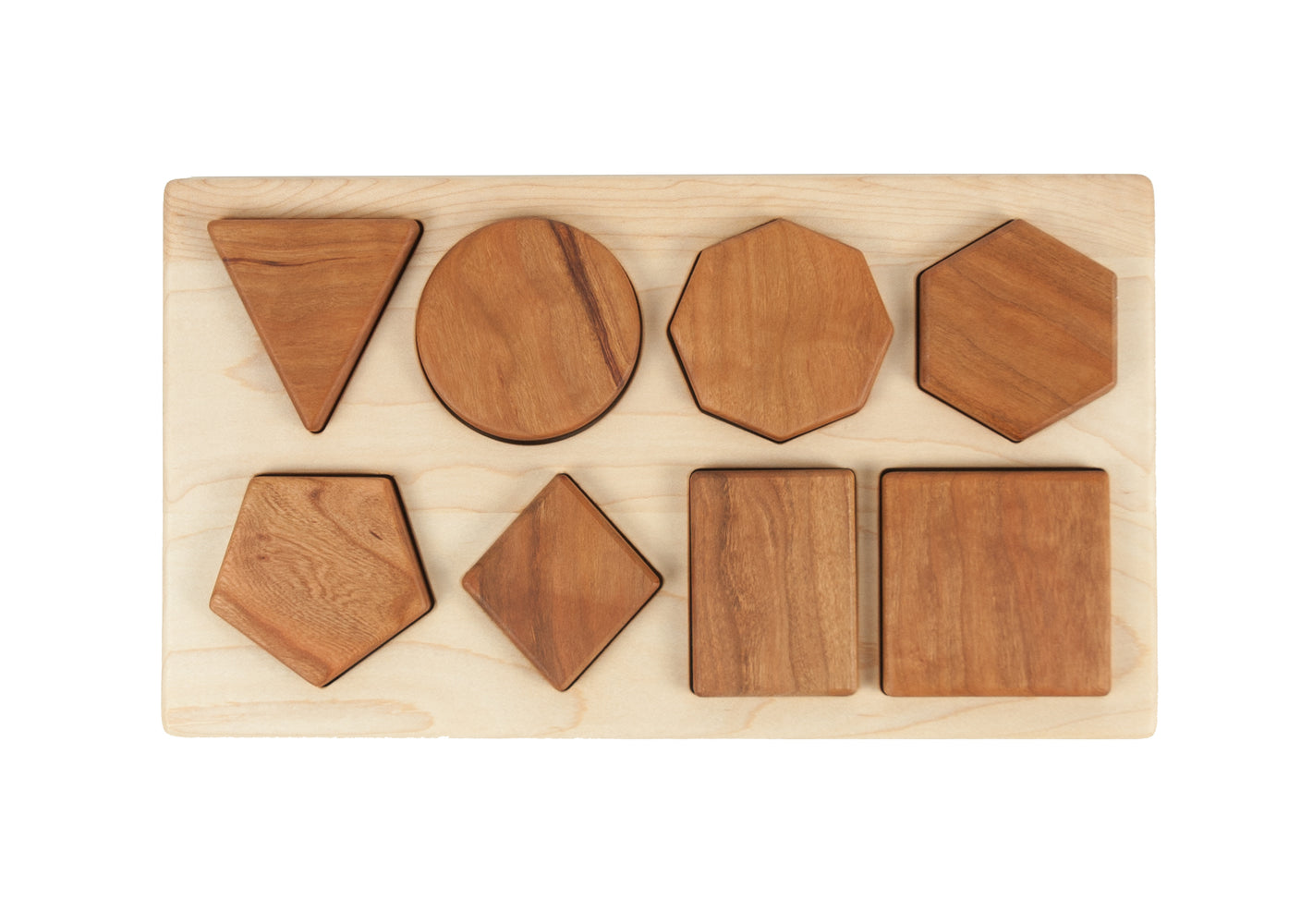 Wooden Shapes Puzzle Treasures From Jennifer
