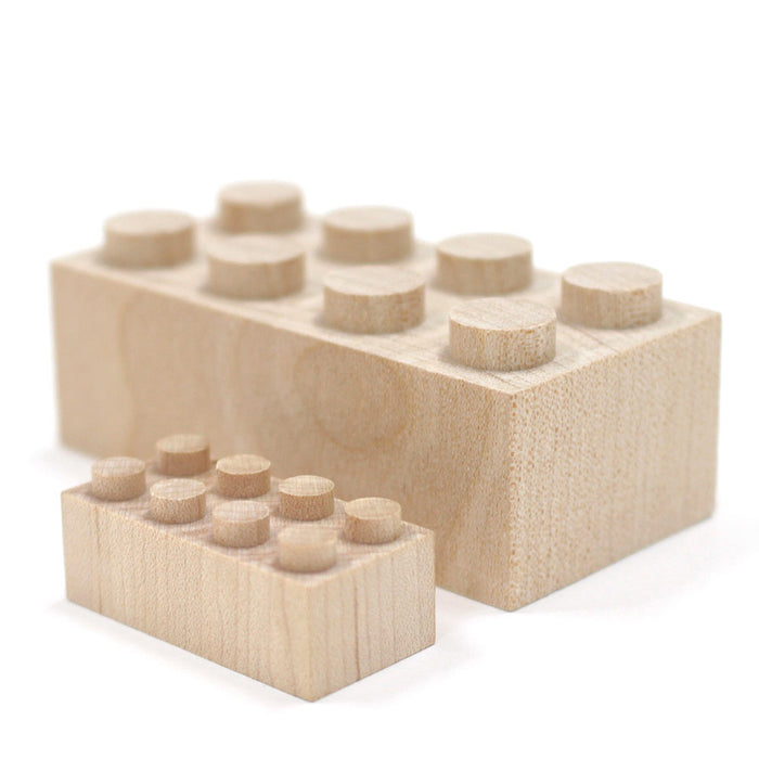 WT-MLBS028-L Mokulock Wooden Building Bricks Tsumiki 28 Pieces Australia
