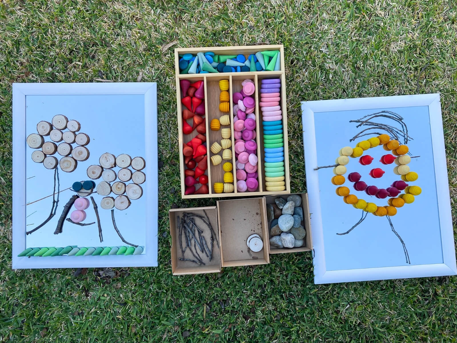 Observe and Create - Invite kids to get inspired by their surroundings