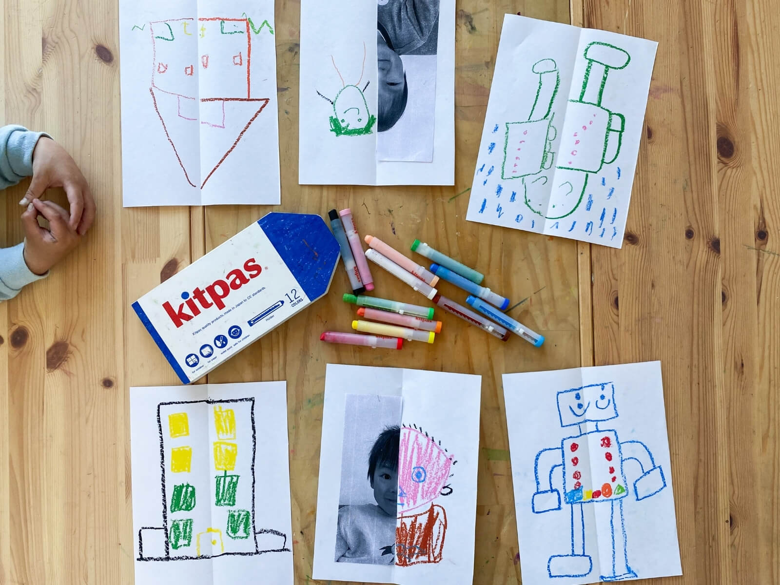 Preparation - Learning Activity Symmetry Drawings