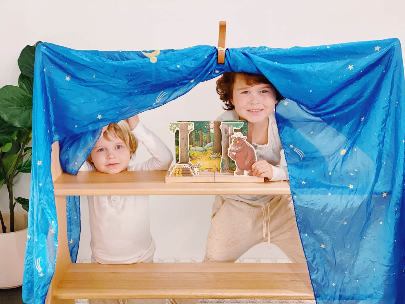 Many learning outcomes are possible through bookish play