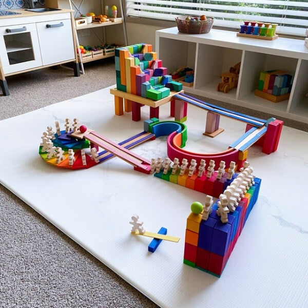 EPIC DIY marble run creations with open-ended wooden toys