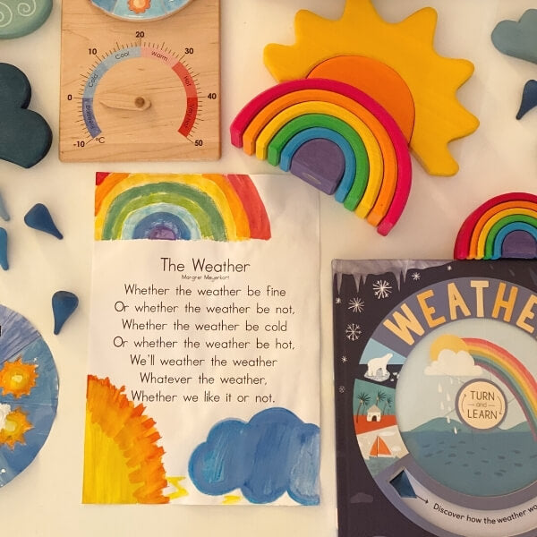 Download and decorate a poem about The Weather