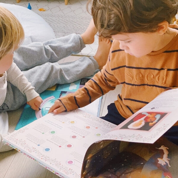 Begin a Family Read-Aloud and enjoy it every morning together