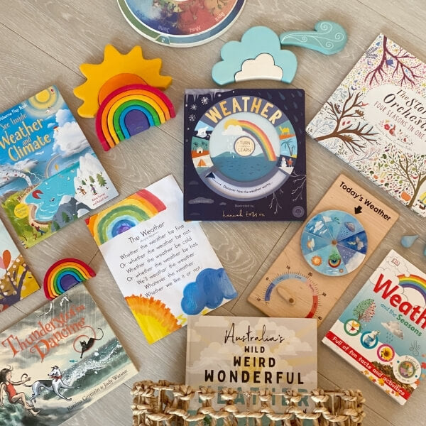 Explore your Little Learners' current interests with a Morning Basket