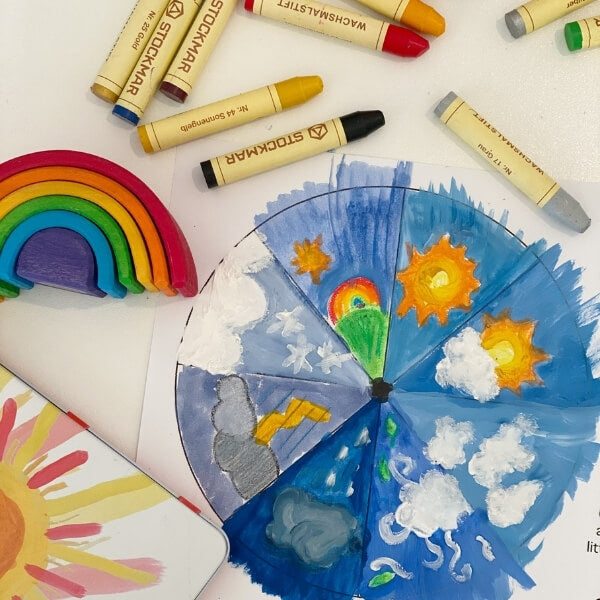 Morning Circle Time - Create your own weather chart