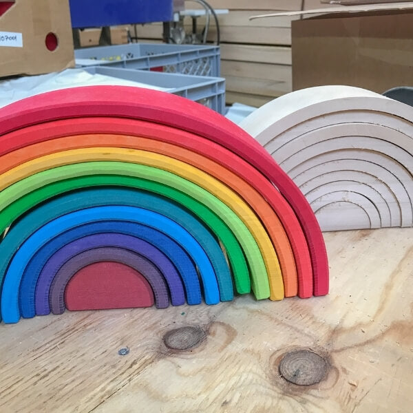 Rainbow Goodness - the making of a Grimm's Rainbow