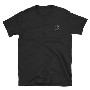 RGB Heart Unisex Embroidered Tee