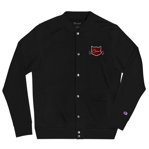 Claw Men's Embroidered Champion Varsity Jacket
