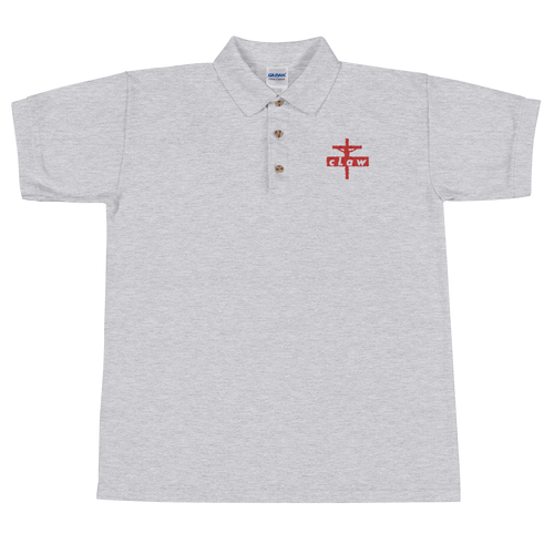 Claw Cross Men's Embroidered Polo