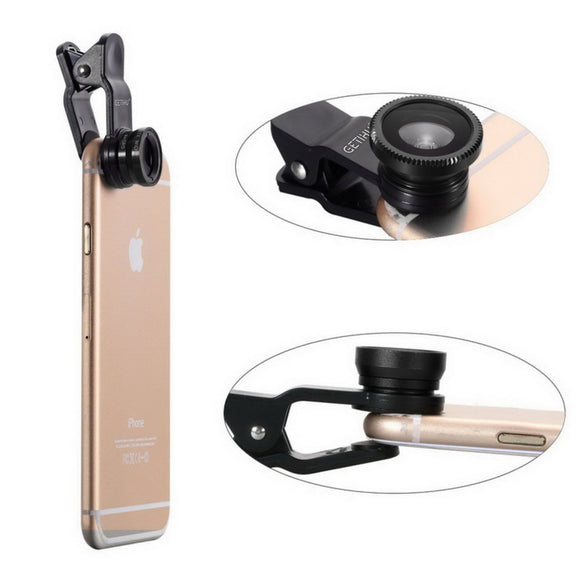 Pack 3 Objectifs Grand Angle & Zoom Macro & Fisheye #NOS MEILLEURES VENTES