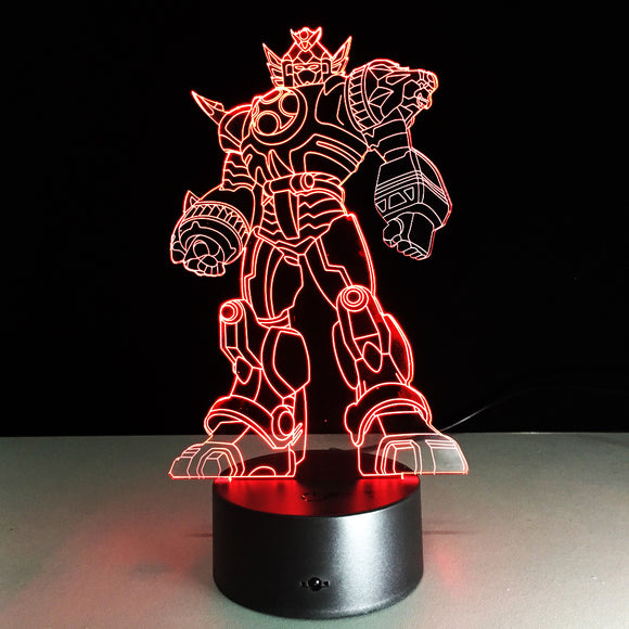 Lampe 3D LED Transformers