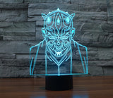 Lampe 3D LED Dark Maul
