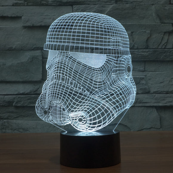 Lampe LED 3D Stormtrooper
