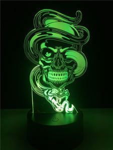 Lampe 3D LED Diabolique