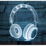 Lampe 3D LED Casque