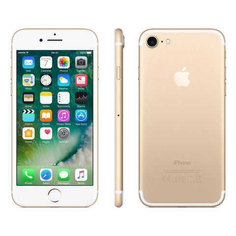 "Apple iPhone 7, iOS 10, 4.7"", 4G LTE, SIM Free, 32GB, Gold"