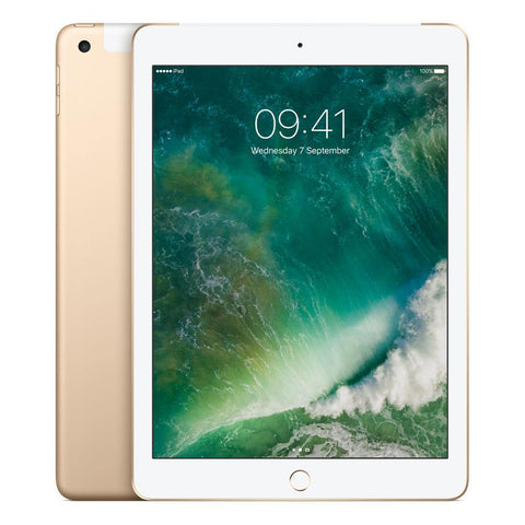 "Apple iPad 9.7"", A9, iOS 10, WiFi & Cellular, 32GB, Gold Brand New"