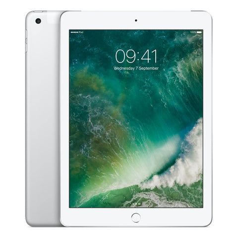 "Apple iPad 9.7"", A9, iOS 10, WiFi & Cellular, 32GB, Silver Brand New"