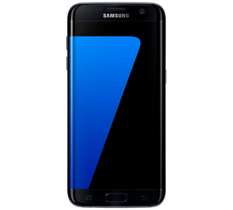 Sim Free Samsung Galaxy S7 Edge Mobile Phone - Black