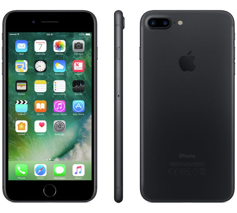 Sim Free iPhone 7 Plus 128GB Mobile Phone - Black
