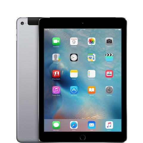 Apple iPad Air 2 128GB, Wi-Fi, Cellular 9.7in - Space Grey Retina A+ Grade Apple Boxed