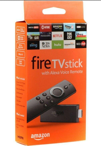 Amazon Fire TV Stick Streaming Media Player with Alexa Voice Remote NEW