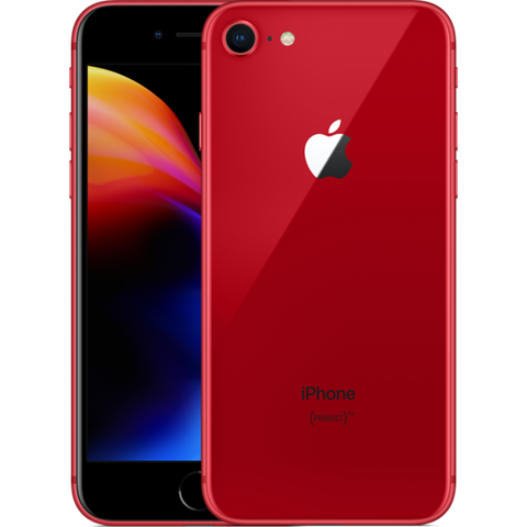 iPhone 8 64GB Mobile Phone Unlocked - RED