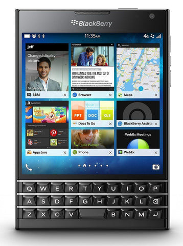 BlackBerry Passport - 32GB - Black (Unlocked) Smartphone