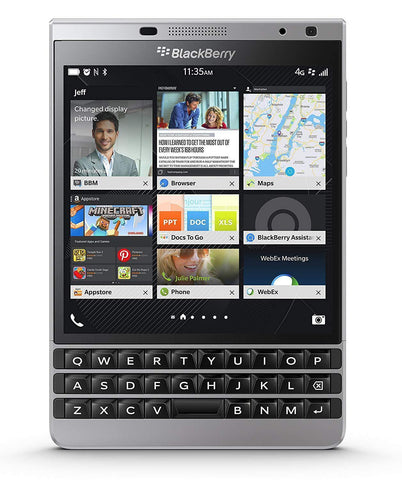 Blackberry Passport 4G 32GB 13MP 3GB RAM Smartphone - Unlocked - SILVER EDITION