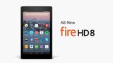 "Fire HD 8 Tablet with Alexa, 8"" HD Display, 16 GB, Black New Sealed"