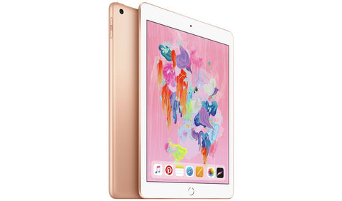 iPad 2018 6th Gen 9.7 Inch Wi-Fi Cellular SIM 128GB – Gold Covered Apple Warranty
