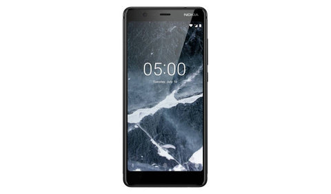 SIM Free Nokia 5.1 Mobile Phone - Black