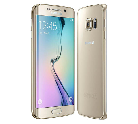 Sim Free Samsung Galaxy S6 Edge 32GB Mobile Phone - Gold Grade C