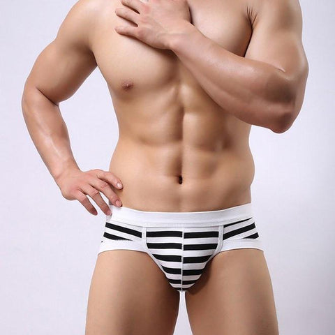 Striped Brief -Brief T-Bô The First Body conscious underwear for men -TBO.clothing