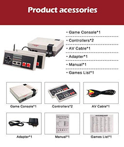 Miniature Retro Arcade Game Console with 620 Classic Video Games