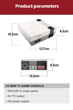 Load image into Gallery viewer, Miniature Retro Arcade Game Console with 620 Classic Video Games