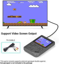 Load image into Gallery viewer, Handheld 8-bit Retro Video Game Console w/ 500 Classic Games, Black