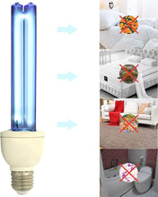 Load image into Gallery viewer, 110V 20W UVC Quartz Ozone Ultraviolet E27 Germicidal Lamp Bulb