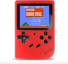 Load image into Gallery viewer, Handheld 8-bit Retro Video Game Console w/ 500 Classic Games, Red