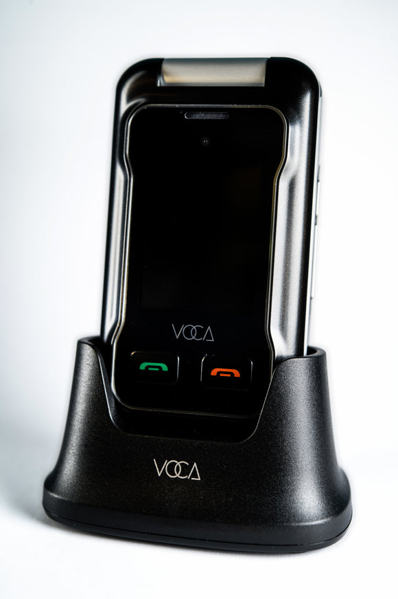 VOCA V530 Unlocked 2G/3G Senior Flip Cell Phone - Big Button