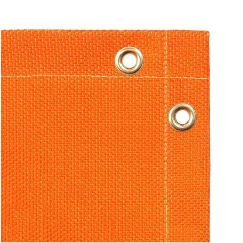 Orange 6' X 8' Fiberglass Welding Blanket, Steiner 369