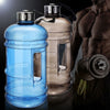 Image of 2.2L Large Capacity Water Bottle Outdoor Sports Gym Space Half Gallon
